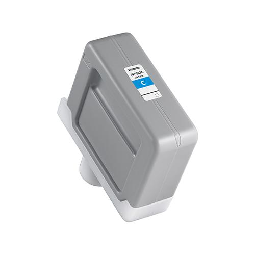 PFI-307C-Cyan-Ink-Tank-On-White-BG