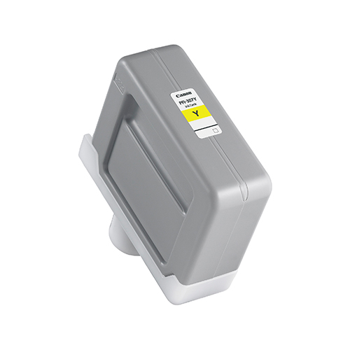 PFI-307Y-Yellow-Ink-Tank-On-White-BG