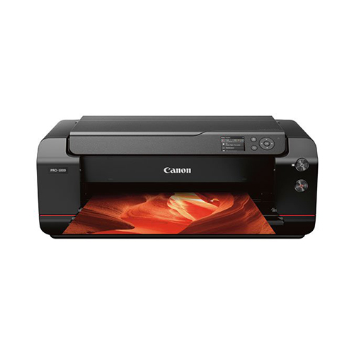 Canon-PRO-1000-Front-View-Wtih-Color-Print