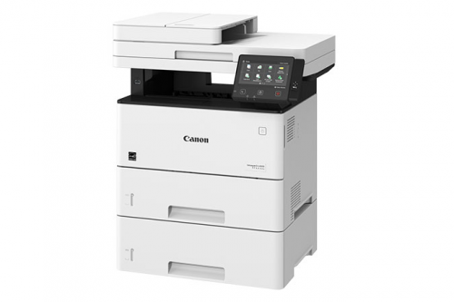Canon imageCLASS MF525dw front slant with drawer