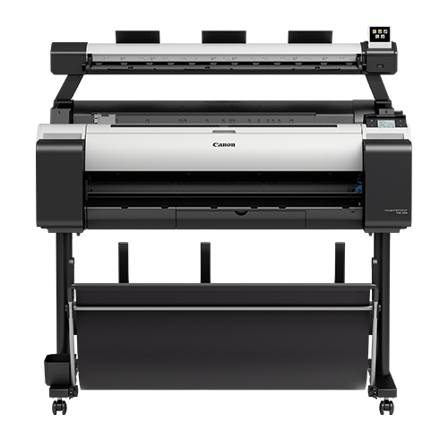 Canon-TM-300-MFP-L36ei-On-A-Stand-Front-View
