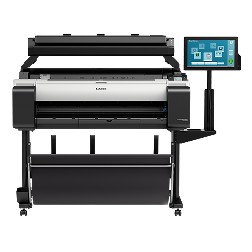 Canon-TM-300-MFP-T36-On-A-Stand-Front-View