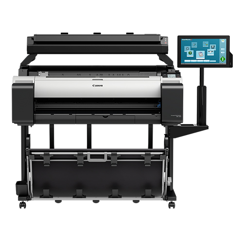 Canon-TM-305-MFP-T36-On-A-Stand-Front-View