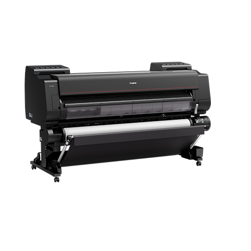 Canon-PRO-6100-Front-Left-Slant-On-Stand-With-Second-Roll