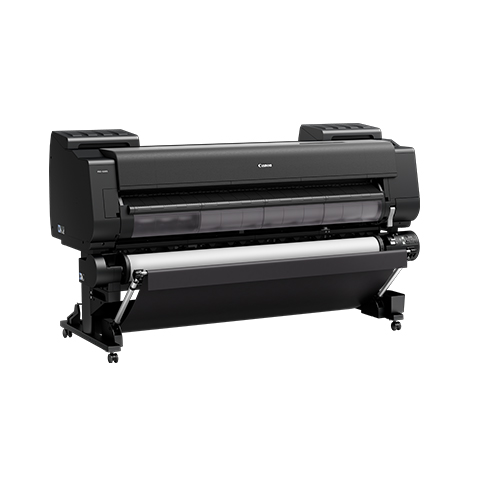Canon-PRO-6100S-On-A-Stand-Wtih-Second-Roll-Front-Left-Slant-View