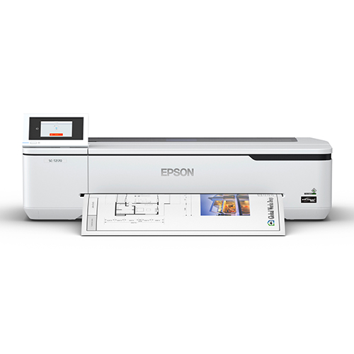 Epson SureColor T2170 Front View With Print