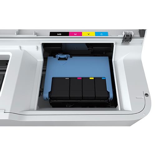 Epson SureColor T2170 Ink Tanks Inside Printer