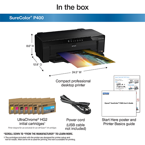 Epson-SureColor-P400-Whats-In-The-Box