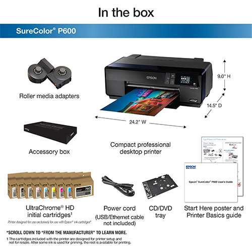 Epson-SureColor-P600-Whats-In-The-Box