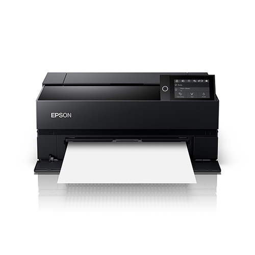 Epson-SureColor-P700-Closed-Front-View-Wtih-Blank-Paper