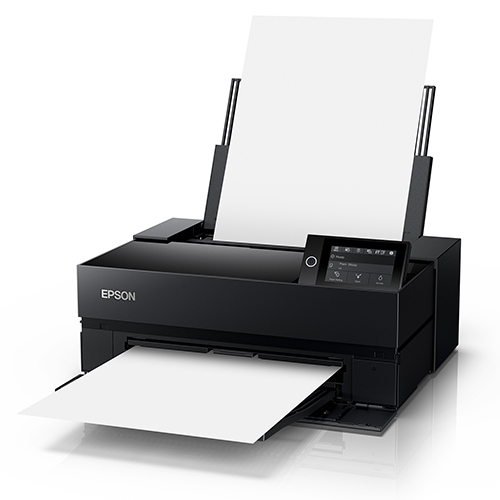 Epson-SureColor-P700-Feeding-And-Producing-Blank-Paper-Front-Right-Corner-View