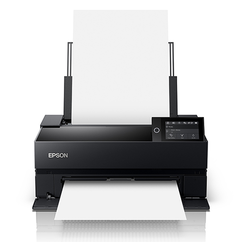 Epson-SureColor-P700-Front-View-Wtih-Blank-Paper