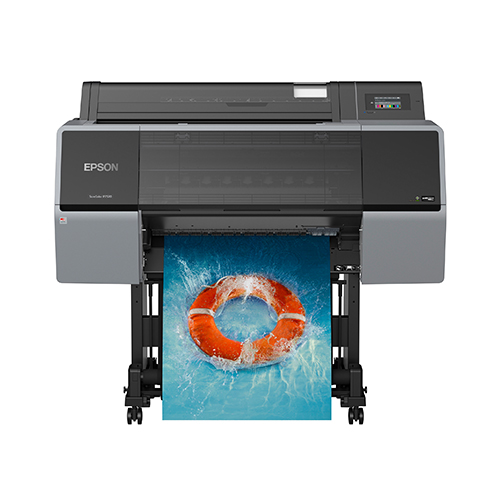 Epson-SureColor-P7570-With-Stand-Printing-Color-Photo
