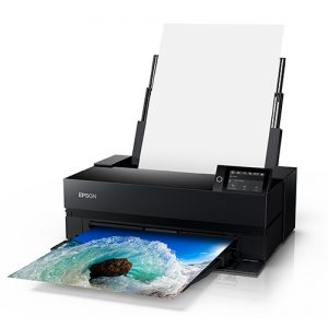 Epson-SureColor-P900-Printing-Ocean-Wave-Front-Right-Corner-View