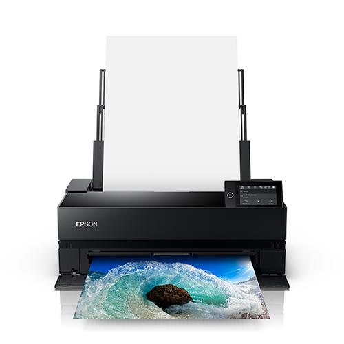 Epson-SureColor-P900-Printing-Ocean-Wave-Front-View