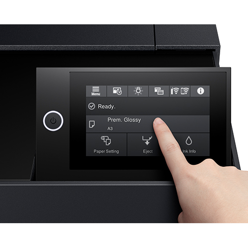 Epson-SureColor-P900-Touch-Screen-Panal