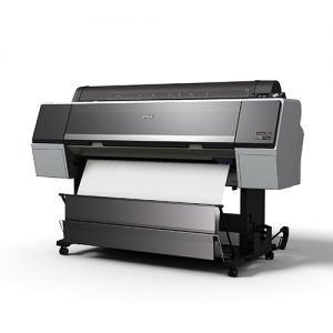 Epson-SureColor-P9000-Delivering-Blank-Print-Into-Open-Basket