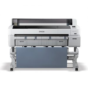 Epson-SureColor-T7270SR-With-Catch-Basket-Front-View